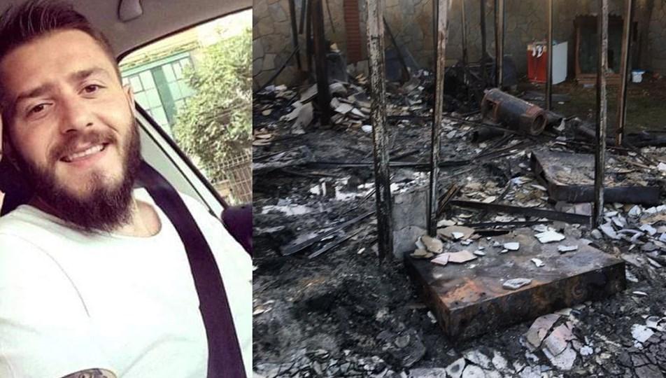Metro Turizm'in sahibi Galip Öztürk'ün damadı villadaki yangında hayatını kaybetti