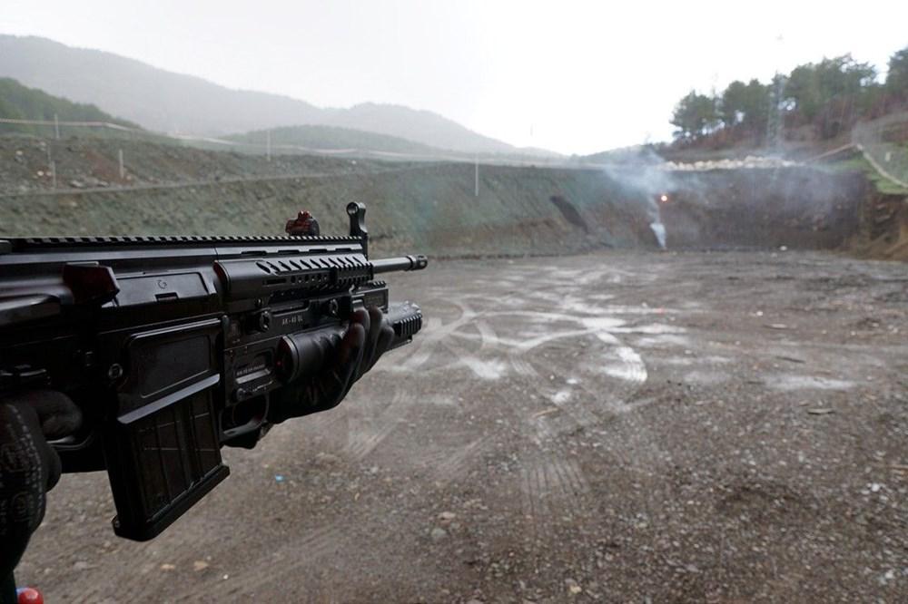Dijital birliğin robot askeri Barkan göreve hazırlanıyor (Türkiye'nin yeni nesil yerli silahları) - 92
