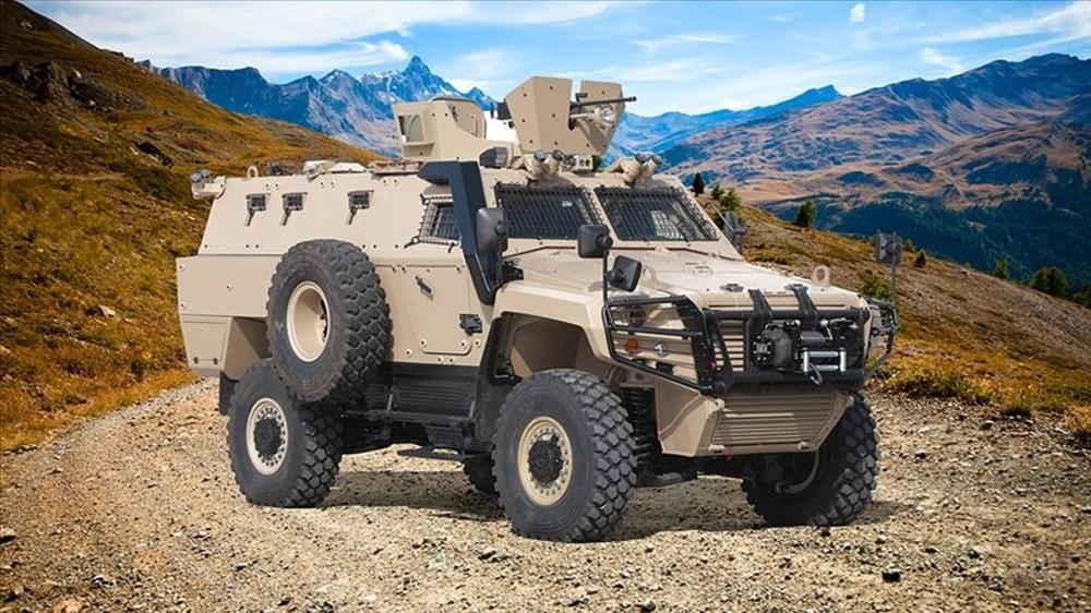 Dijital birliğin robot askeri Barkan göreve hazırlanıyor (Türkiye'nin yeni nesil yerli silahları) - 17