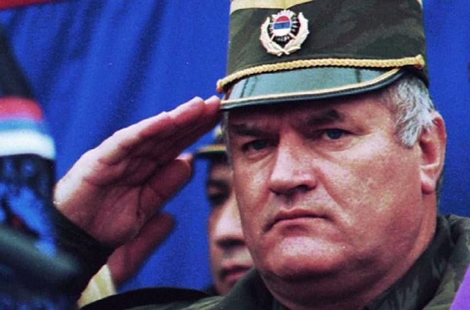 """""""Bosna kasabı"""" lakaplı Ratko Mladiç"""