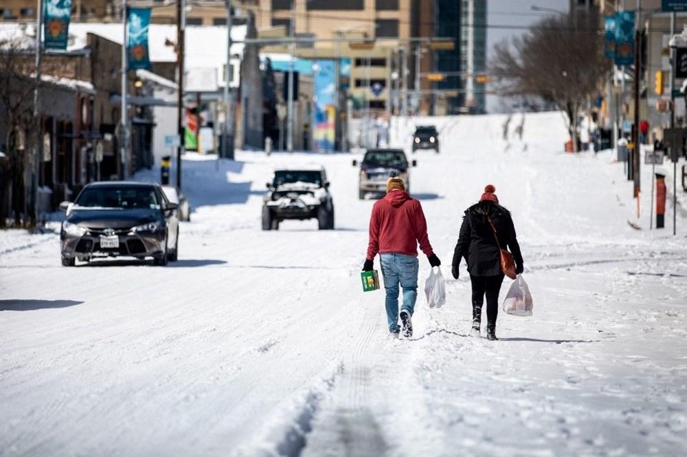 Teksas'ta kar fırtınası: En az 21 kişi hayatını kaybetti - 5