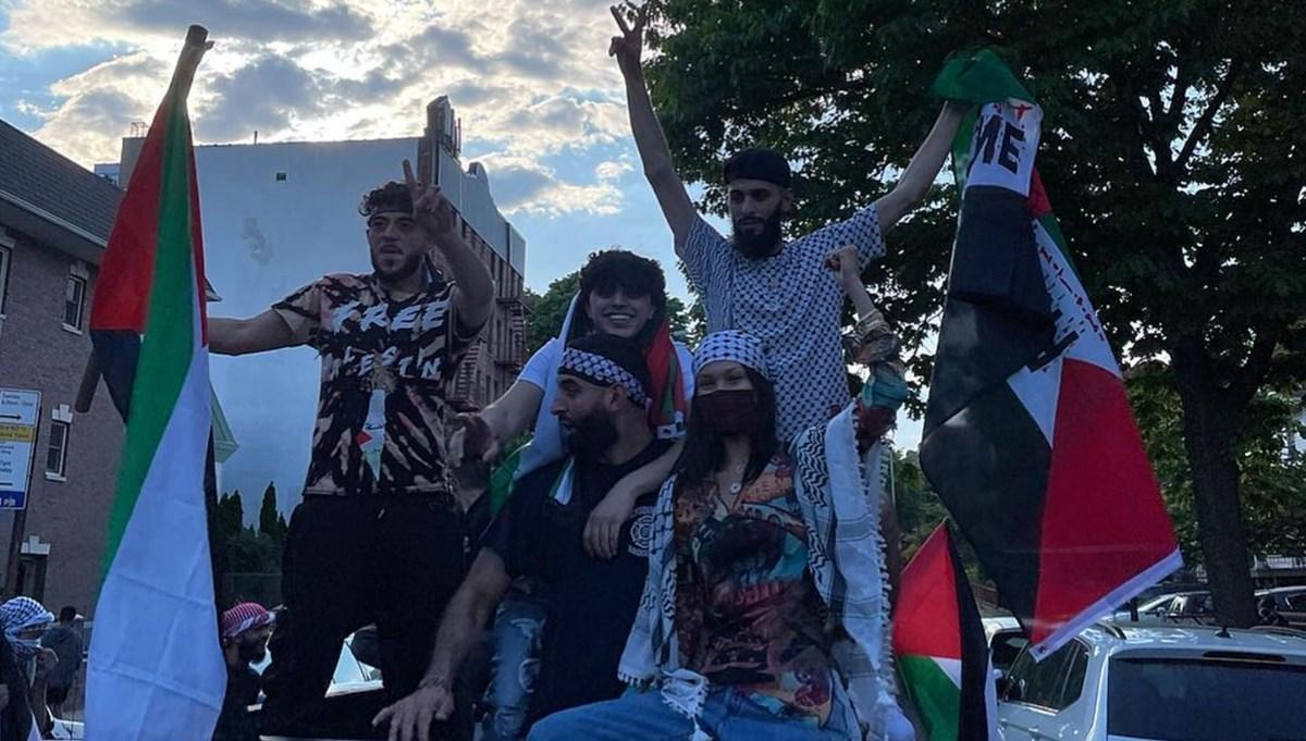 İsrail Bella Hadid'i hedef aldı: Yazıklar olsun
