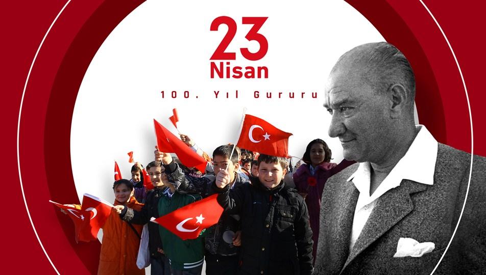 23 Nisan Ulusal Egemenlik ve Çocuk Bayramı'nın 100'üncü yılını kutluyoruz | NTV