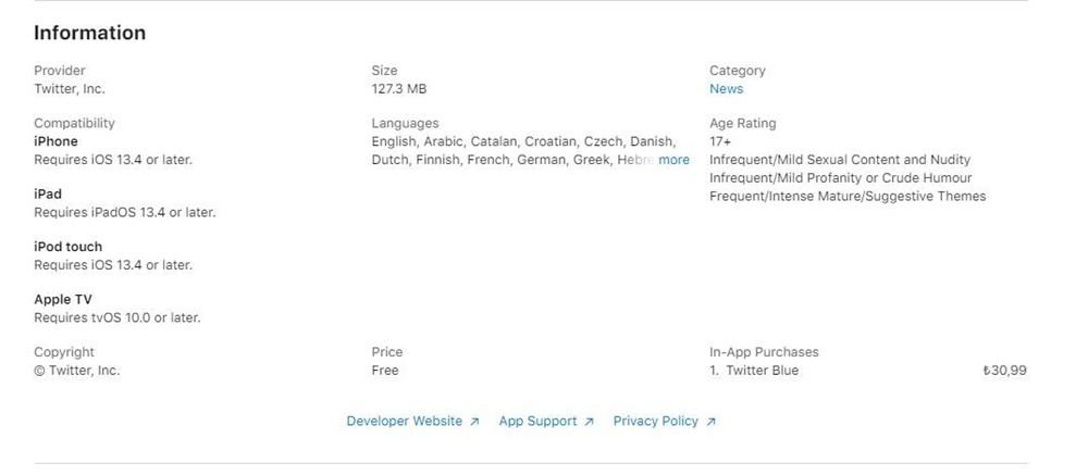 Twitter'ın ücretli üyelik versiyonu Twitter Blue tanıtıldı: İşte Türkiye fiyatı ve özellikleri - 4