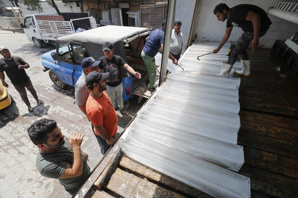 Temperature exceeded 50 degrees in the shade in Iraq: Ice demand exploded - 3