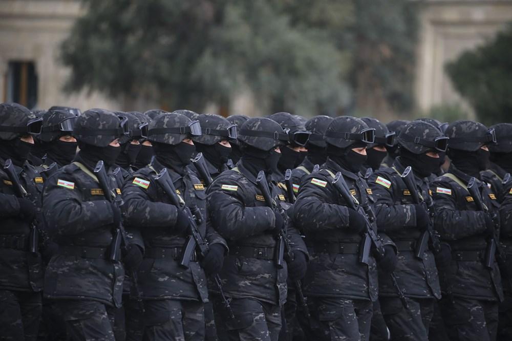 Bakü'de Karabağ zaferi kutlaması - 16