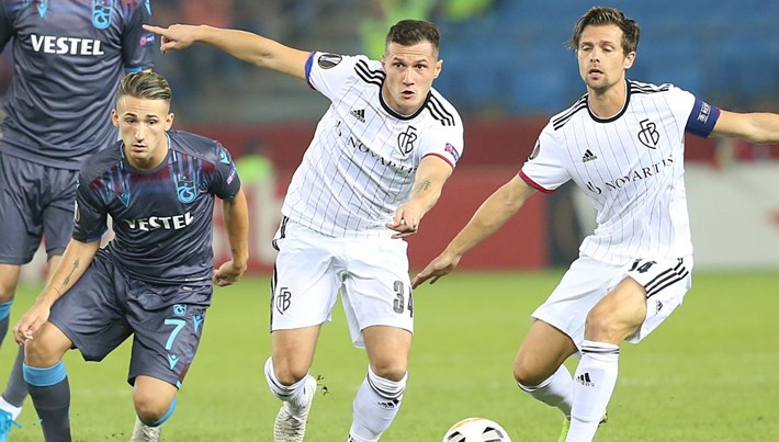 Trabzonspor, Basel'i elinden kaçırdı
