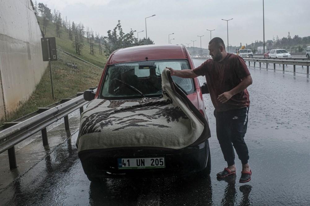 İstanbul'da şiddetli yağış ve dolu - 5