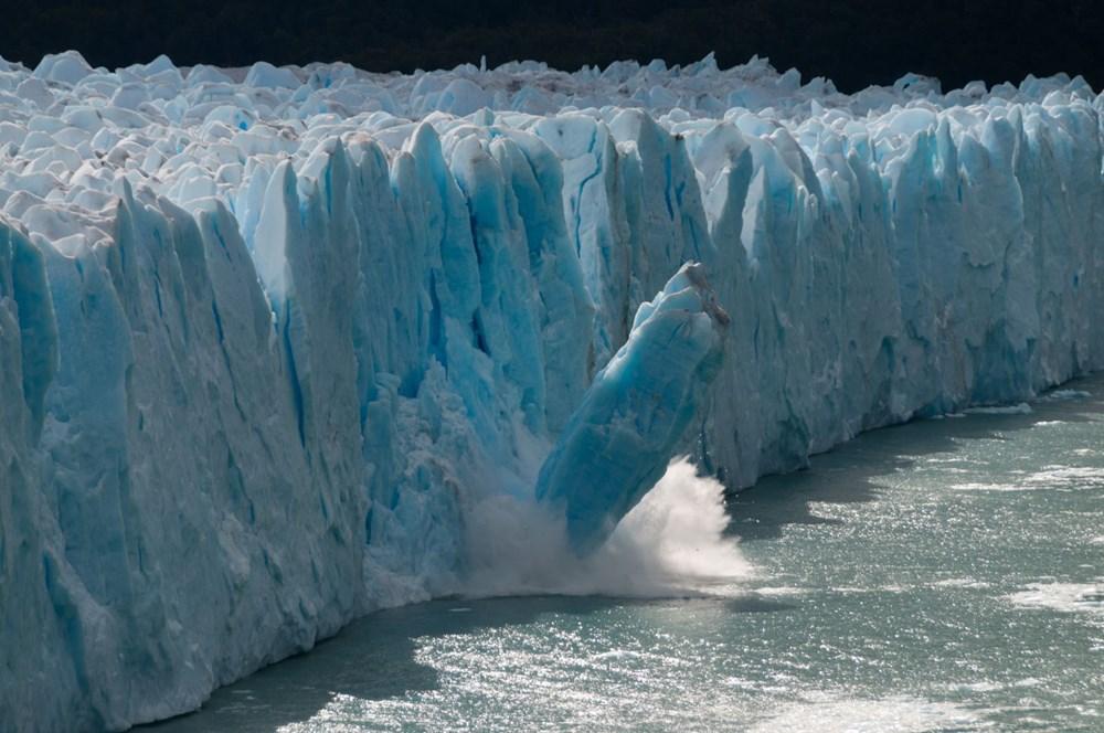 İklim değişikliği nedeniyle Grönland'de büyük bir buz tabakası koptu - 7