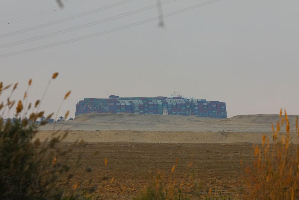 Süveyş Kanalı 6. günde kısmen açıldı: Ever Given gemisi yüzdürüldü - 12