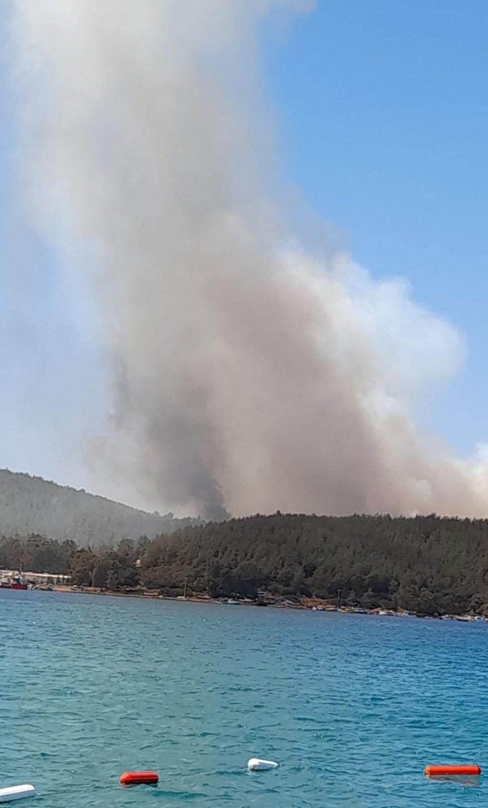 Antalya, Adana, Mersin, Aydın, Muğla, Osmaniye, Kayseri ve Manisa'da orman yangınları - 27