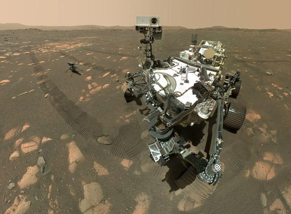 Perseverance Mars'ta 100 gün geçirdi: Kızıl Gezegen'den en etkileyici fotoğraflar - 2