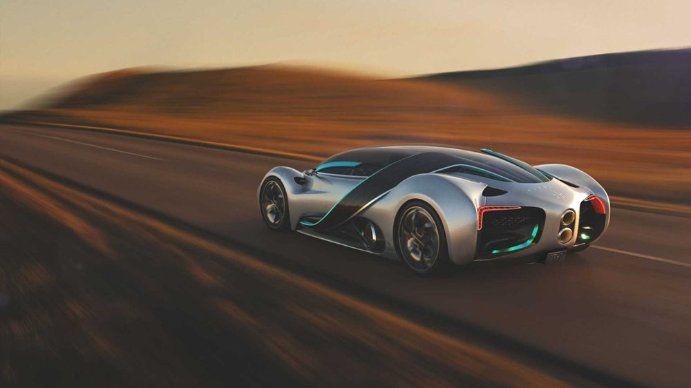 Hidrojen yakıtlı süper otomobil: Hyperion XP-1 - 5