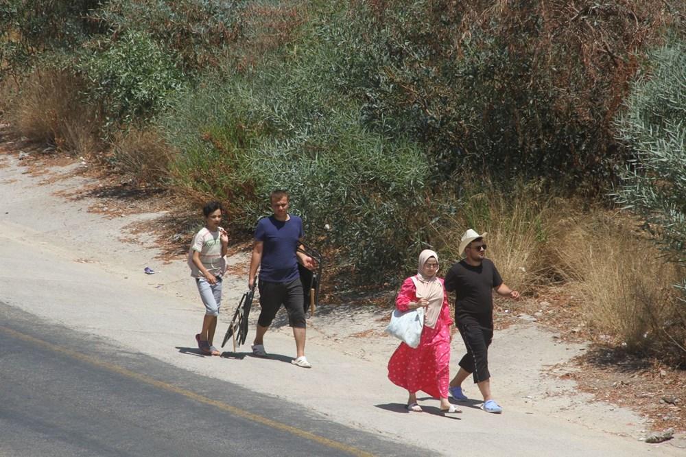 Ölüdeniz'e ulaşmak için kilometrelerce yürüdüler - 4