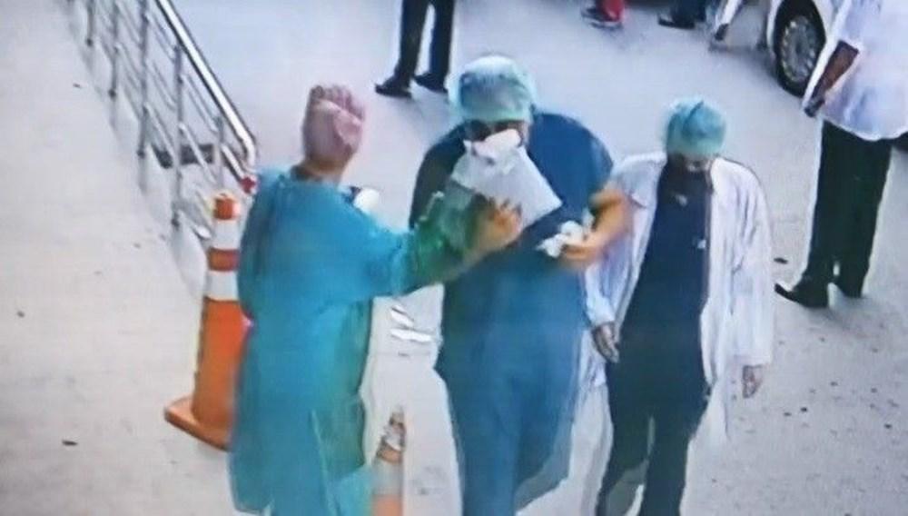Hastanede güvenlik görevlisi ve doktora saldırı - 5