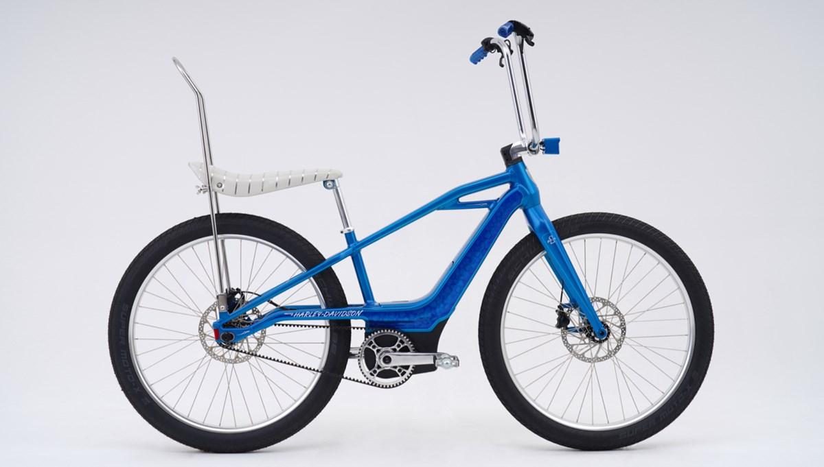Harley-Davidson'dan sadece bir adet üretilecek elektrikli bisiklet