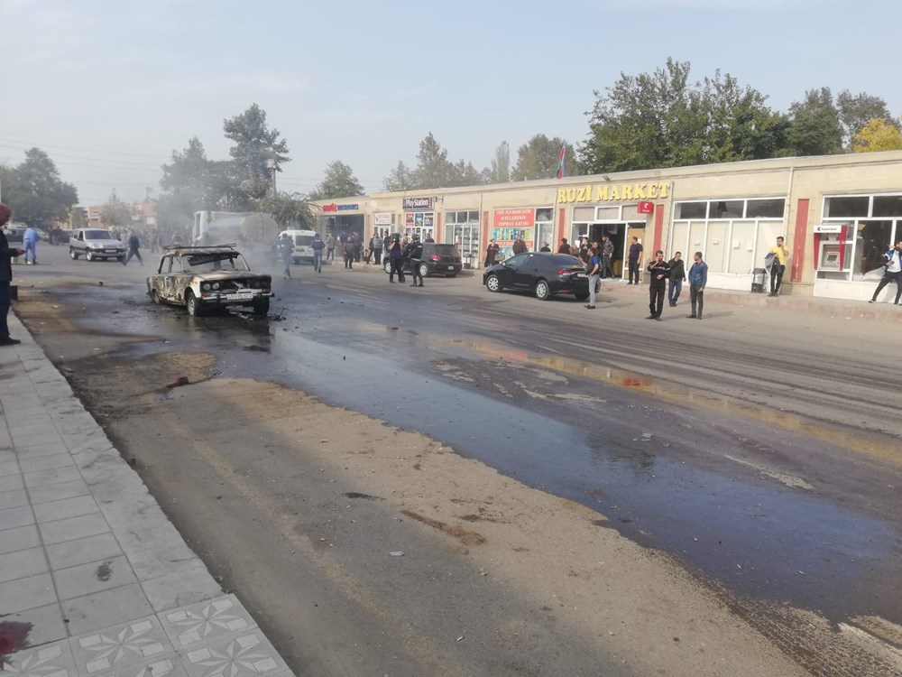 Ermenistan yine sivilleri vurdu (NTV ekibi olay yerinde) - 11