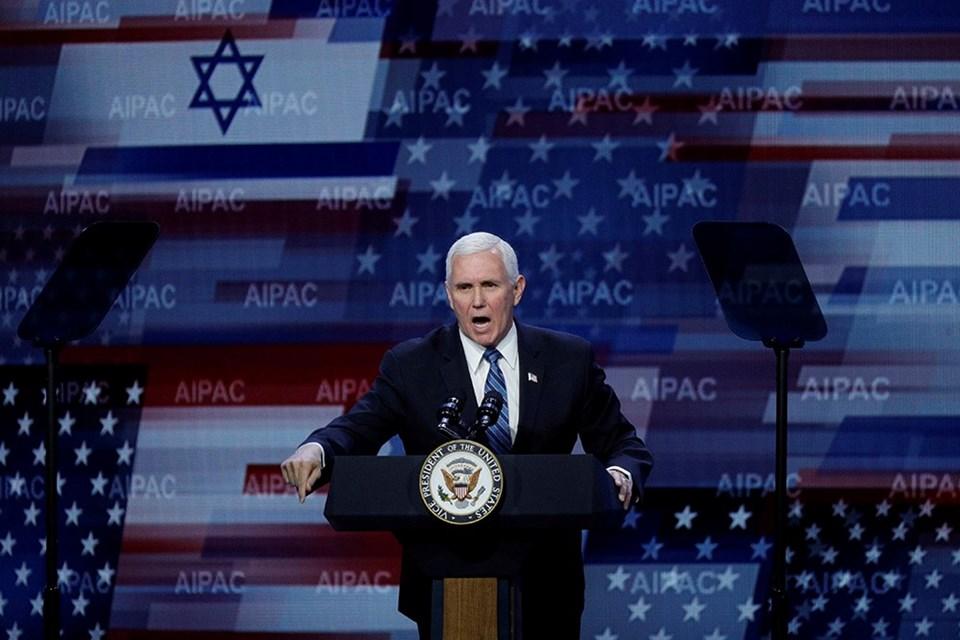Pence, AIPAC toplantısında
