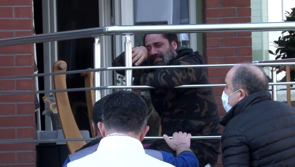Çılgın Sedat'ın evinde yangın: Engelli oğluna sarılıp gözyaşlarına boğuldu
