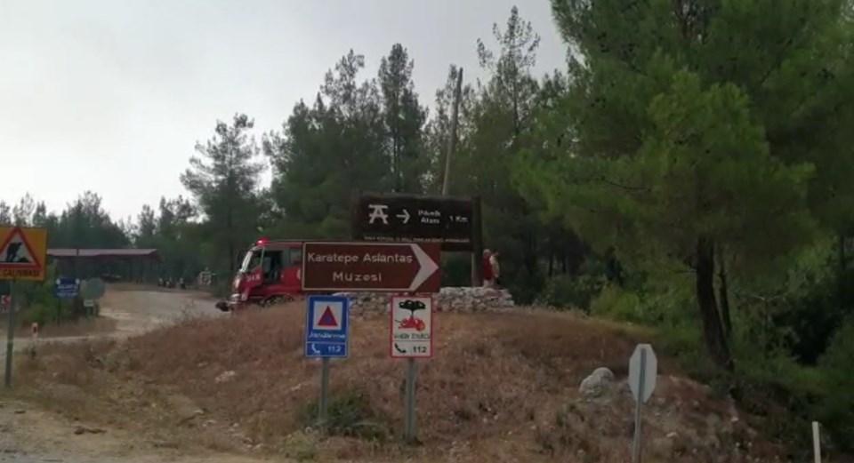 Orman Bölge Müdürlüğü yetkilileri, yangının söndürülmesinde önemli aşama kaydettiklerini, yanan alanı çevrelediklerini ancak rüzgarın hala 'risk' olarak değerlendirildiğini söyledi.