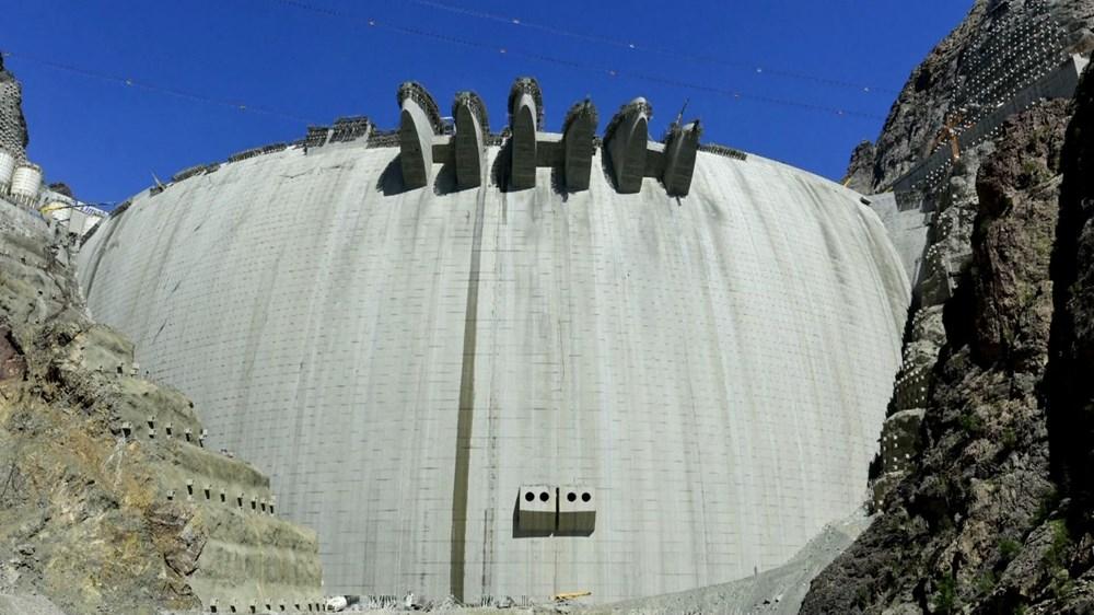 Türkiye'nin en yüksek barajında ekonomiye yıllık 2 milyar TL katkı - 2