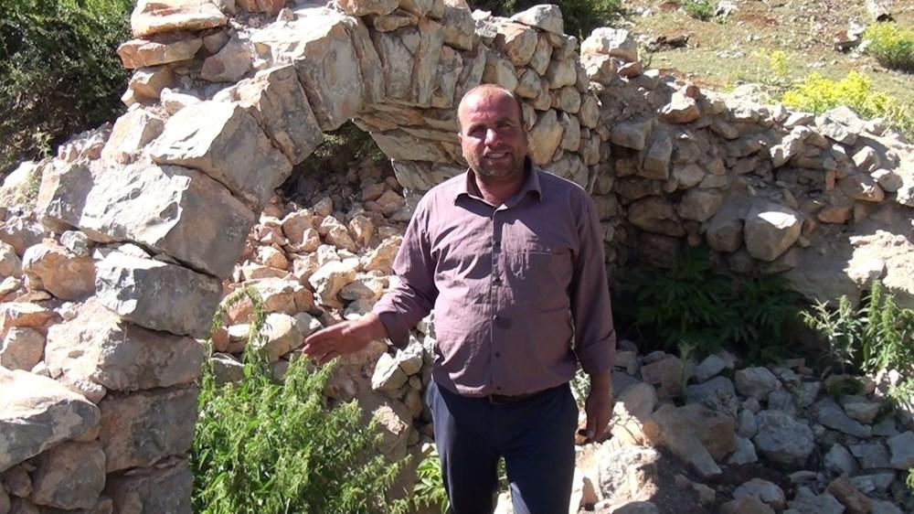 Tarihi Nodar Han ve hana ait kemerli kuyu define avcıları tarafından talan edildi - 10