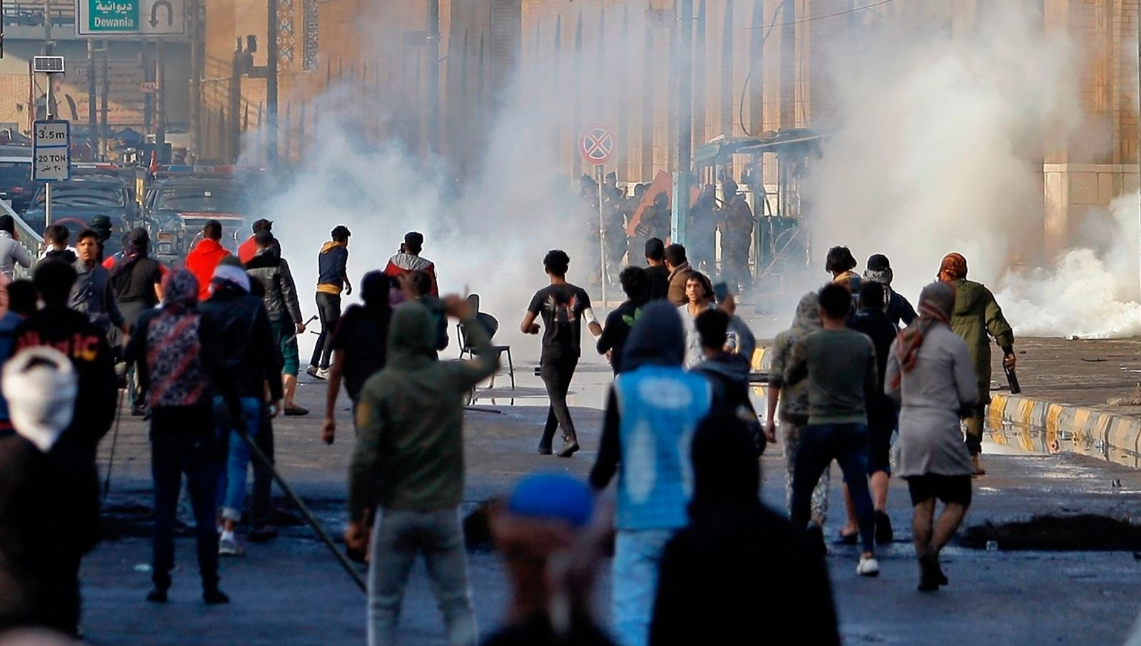 SON DAKİKA HABERİ: Bağdat'ta göstericilere ateş açıldı:16 kişi öldü