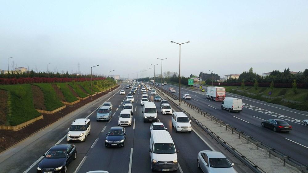 İstanbul'da, 'tam kapanma' öncesinde kaçış trafiği - 3