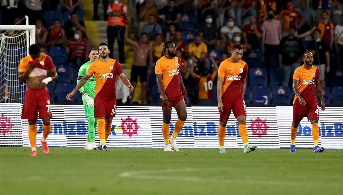SON DAKİKA: Galatasaray'dan Şampiyonlar Ligi'ne veda