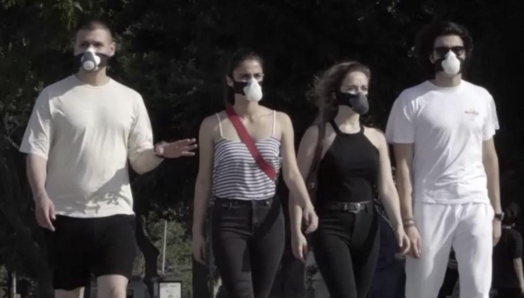 Corona virüse karşı yerli akıllı maske