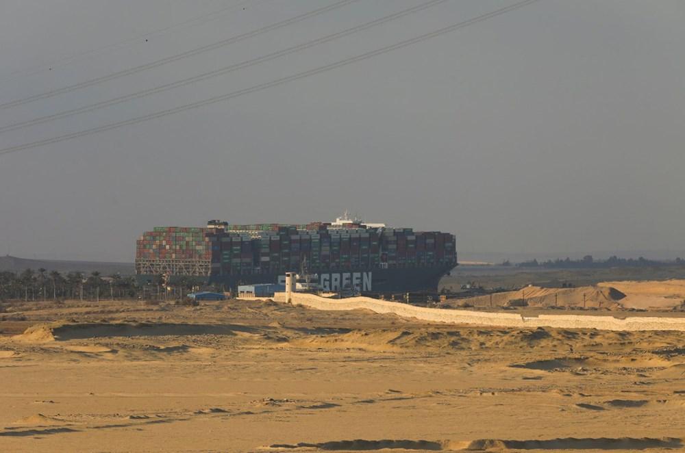 Süveyş Kanalı 6. günde kısmen açıldı: Ever Given gemisi yüzdürüldü - 11
