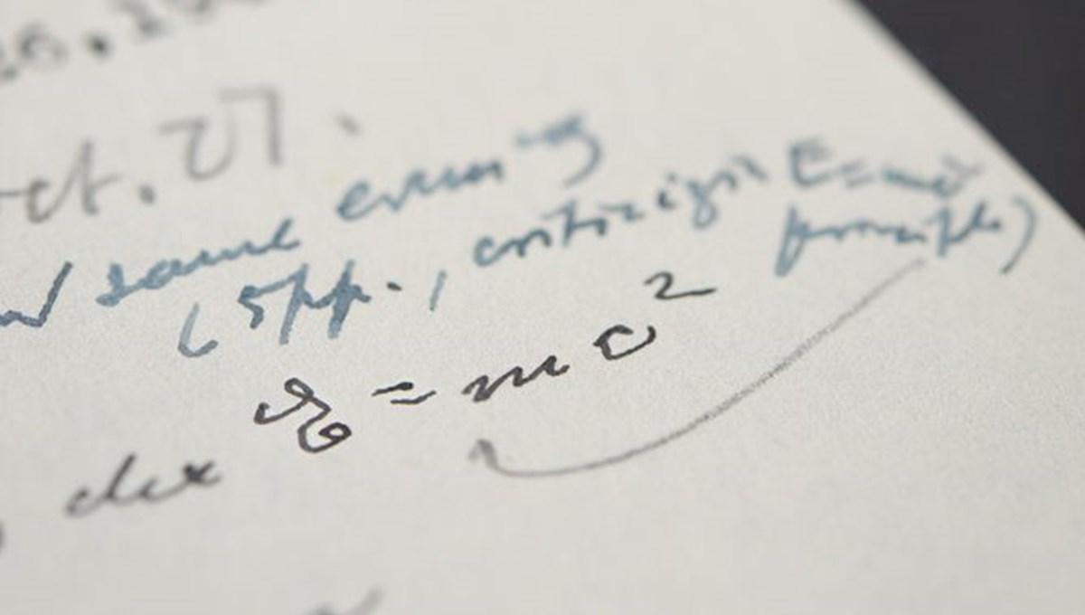 Einstein'in mektubu rekor fiyata satışa çıkıyor
