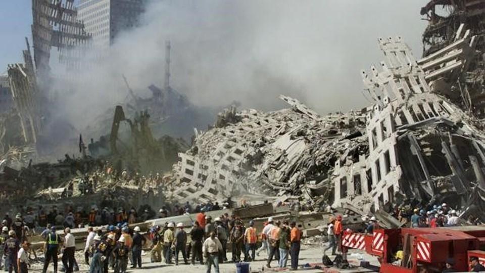 11 Eylül 2001'deki saldırılarda2 bin 996 kişi hayatını kaybetmişti.