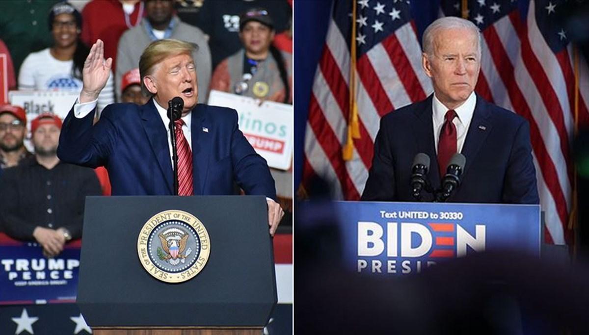 Trump ilk canlı yayın tartışması öncesi rakibi Biden'a doping testi yapılmasını istedi