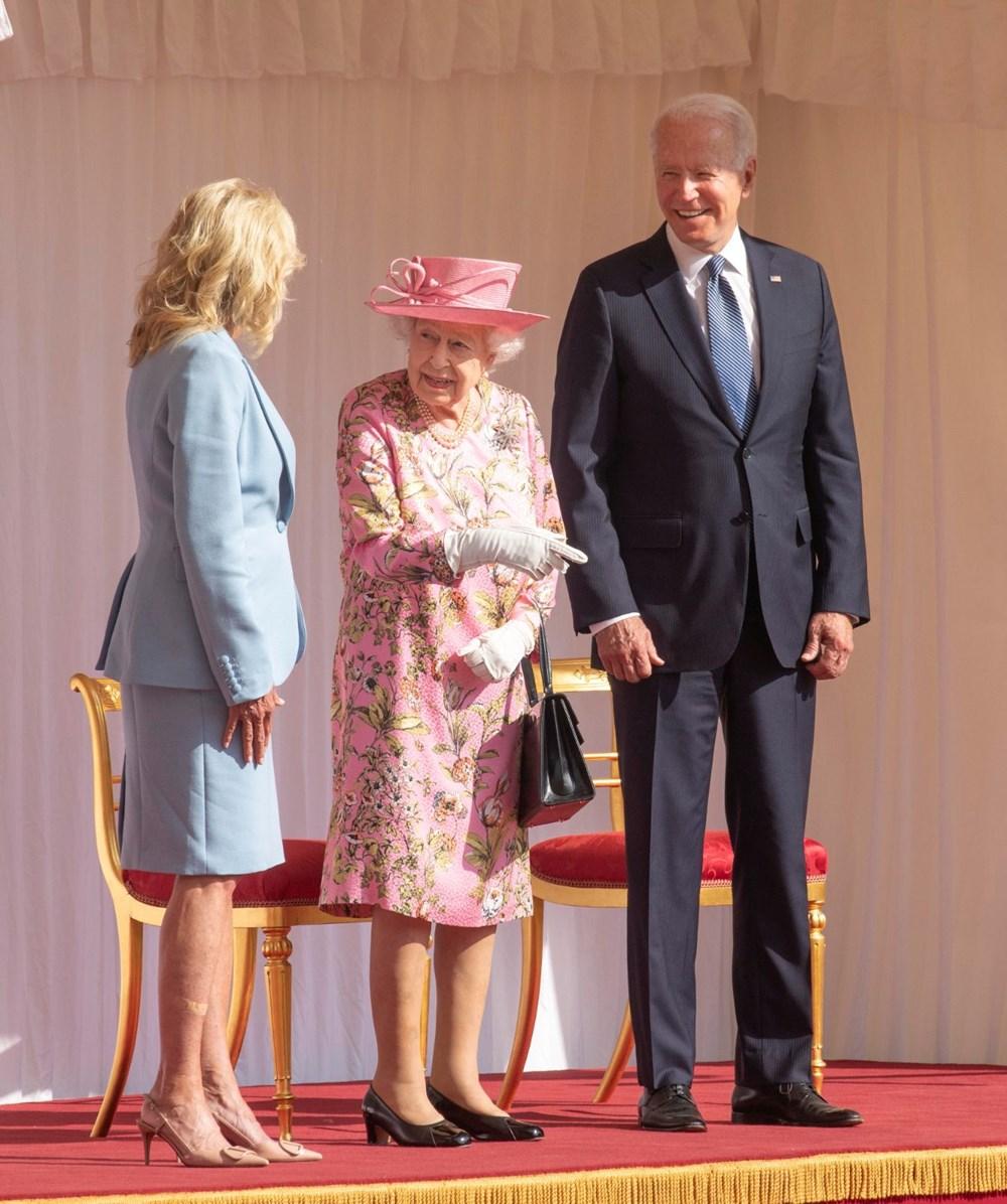 ABD Başkanı Biden, İngiltere Kraliçesi Elizabeth ile buluştu - 6