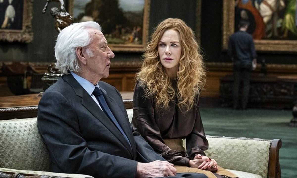 Donald Sutherland ve Kidman,The Undoing setinde