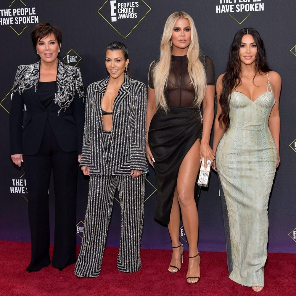 Kim Kardashian kardeşiyle kameralar önündeki kavganın iç