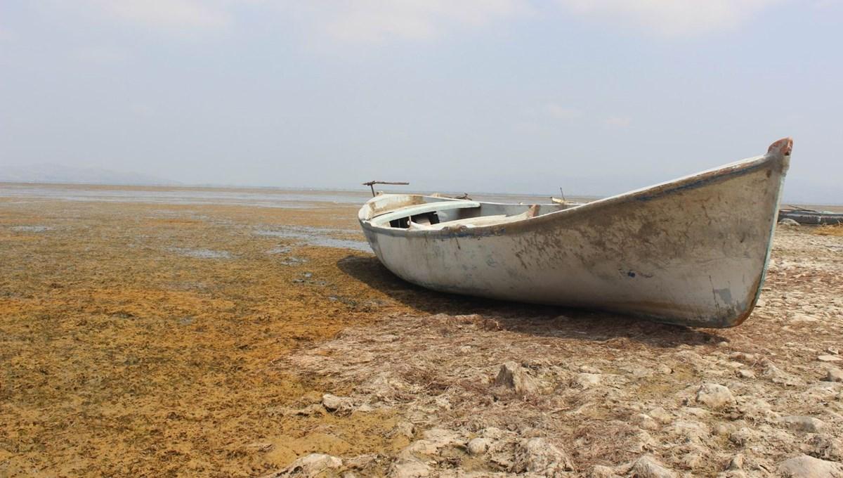 Marmara'da göl suları çekildi: İzinsiz tarıma para cezası
