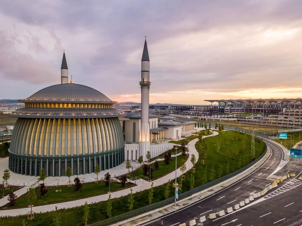 İstanbul Havalimanı'nda 3. bağımsız pist, Devlet Konukevi ve cami hizmete açılıyor - 6