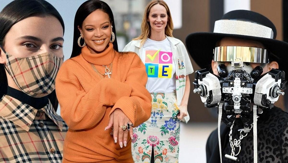 2020'ye damga vuran moda olayları