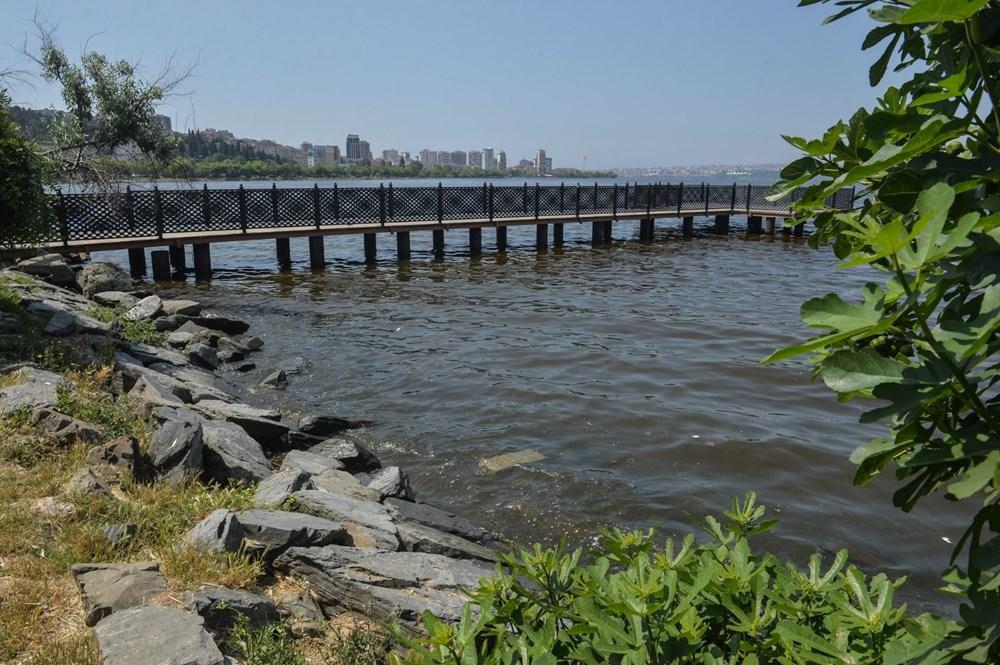 Küçükçekmece Gölü'nde atık iddiası - 5