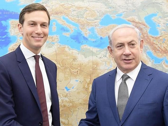 """Netanyahu, Trump'ın damadı Kushner ile """"ilhakı"""" görüştü"""