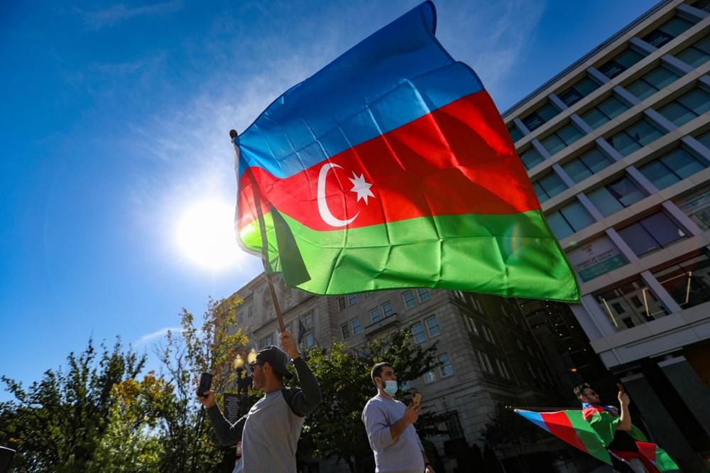 Beyaz Saray önünde Azerbaycan'a destek mitingi düzenlendi - 13