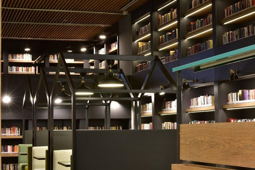 Bursa'da yapımı tamamlanan Mümine Şeremet Uyumayan Kütüphanesi açılıyor - 4