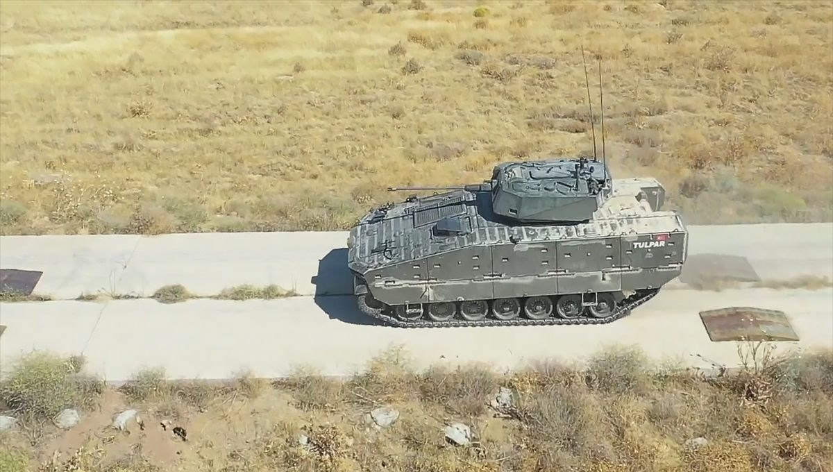 Türkiye'nin yeni zırhlısı Tulpar seri üretime hazır