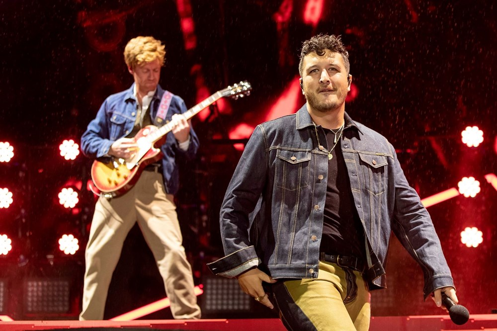 Dünya karantinadayken Yeni Zelanda'da 50 bin kişilik konser - 4