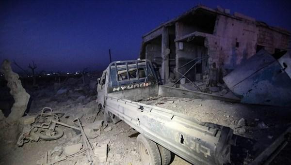 SON DAKİKA HABERİ:İdlib'de kampa saldırı: 12 ölü