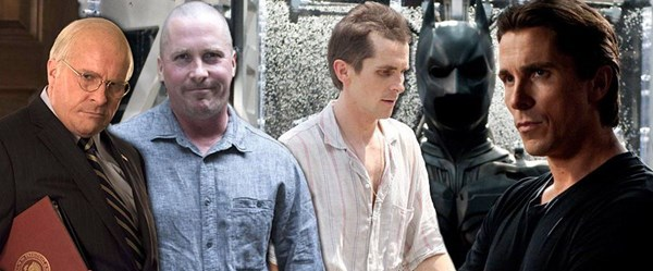 Christian Bale'ın rolleri için inanılmaz değişimi (Vice ile ödül aldı)