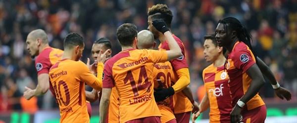 Galatasaray-Antalyaspor karşılaşması (Canlı anlatım)
