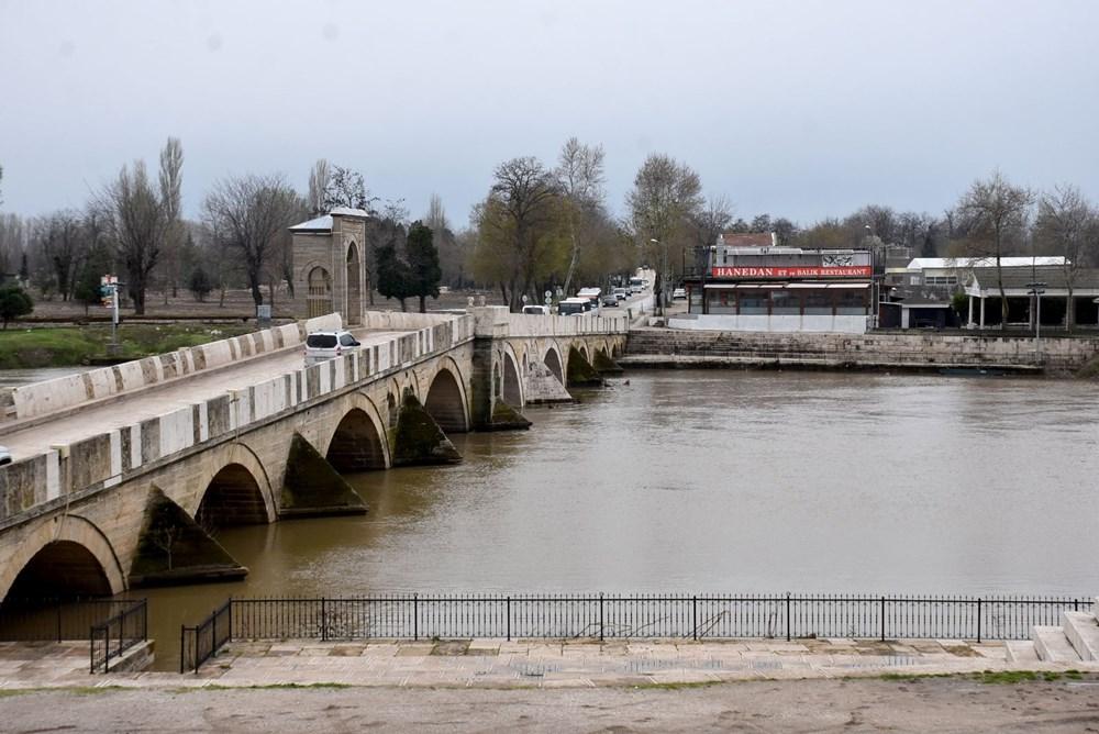 Tunca Nehri bir haftada 4 kat arttı: Sarı alarm verildi - 7